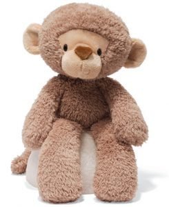Stuffed monkey that was part of the plans of having Samantha